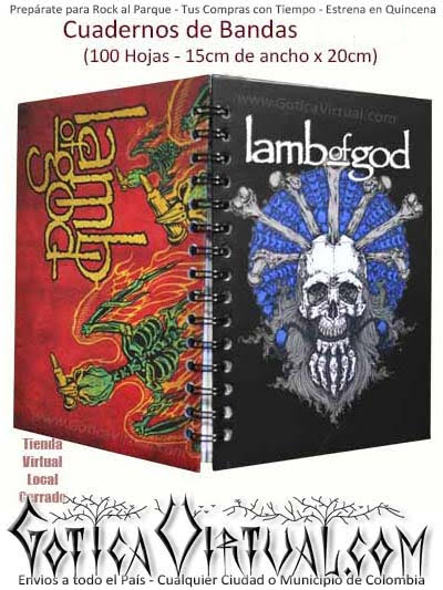 agenda cuaderno banda lambofgold escolar utiles bogota colombia envios medellin cali popayan pereira pasto