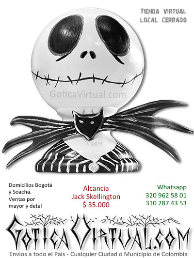 alcancia jacl skelligton bonita economica accesorios decoracion venta online boutique rock metal bogota soacha manizales sincelejo armenia pasto colombia
