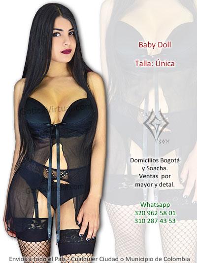 baby doll velo liguero medias malla venta online bogota lenceria femenina pendas sexy valle bucaramanga huila pereira popayan colombia
