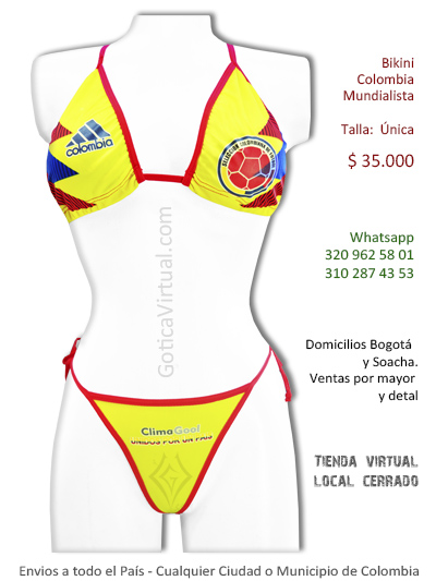 bikini colombia mundialista sexy mundial 2018 bogota florencia villavicencio villeta chia cali cesar caldas colombia