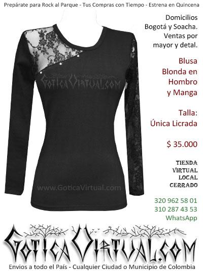 blusa algodon blonda economica bonita boutique envios bogota cali medellin tunja popayan bucaramanga yopal sincelejo cucuta colombia