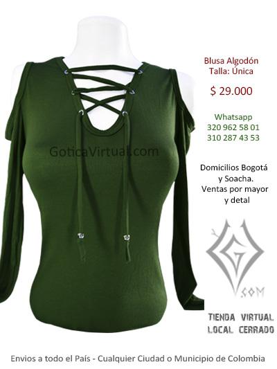 blusa algodon bogota tienda online erzebeth restrepo cuidad bolivar soahca domicilios envios medellin cali cartagena barranquilla colombia pasto