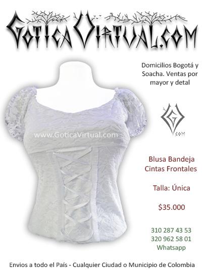 blusa bandeja blanca sexy economica venta online domicilios bogota caldas tunja cesar manizales tunja quindio pereira colombis