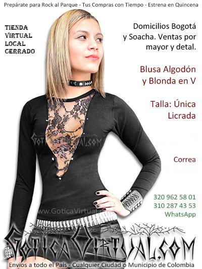 blusa algodon blonda economica bonita boutique envios bogota armenia tunja sincelejo pereira tolima valle quindio tunja colombia