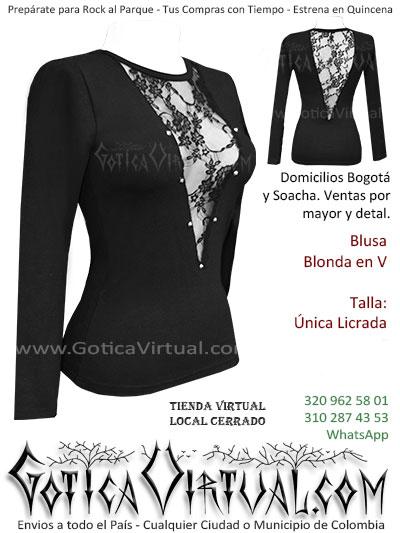 blusa algodon blonda economica bonita boutique envios bogota manizales antander neiva quindio cauca colombia