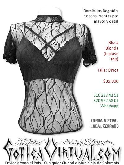 blusa blonda sexy economica venta online rock metal bogota medellin risaralda tunja cauca medellin colombia