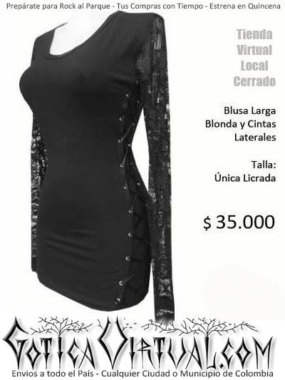 blusa larga bogota algodon manga larga envios medellin panama caracas lima buenos aires quito mexico miami new york dark store