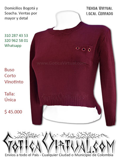 buso vinotinto algodon lana femenino economico diseno exclusivo bogota cucuta yopal quindio armenia caldas duitama colombia