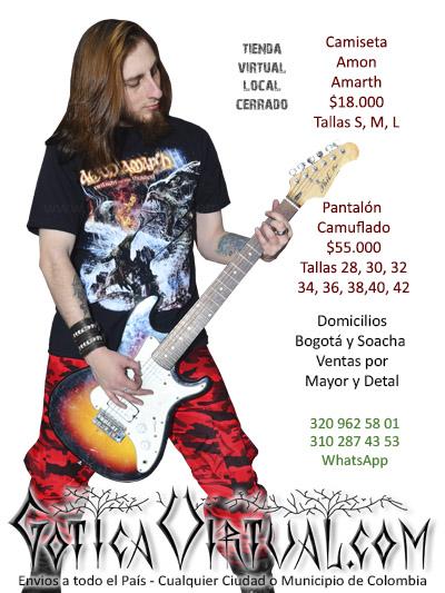 camiseta amon amarth masculina chico tienda online rock metal bogota manizales quindio armenia caldas tunja cesar quindio pereira colombia