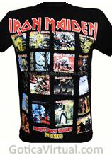 camiseta iron maiden albunes estampados caratulas dicos envios medellin cali pasto pereira tunja