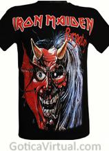 camiseta iron maiden envios cali cartagena cucuta rockeras metaleras medellin barranquilla