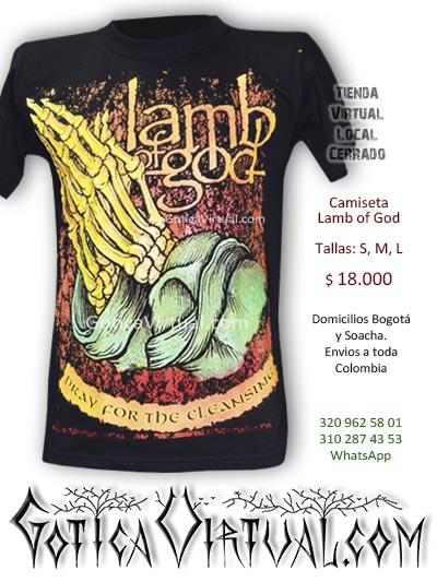 camiseta lamb of god bogota teinda rock online clan metaleros al parque store venecia