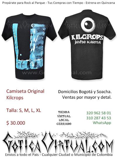 camiseta kilcrops original hombre venta online domicilios bogota y soacha envios colombia