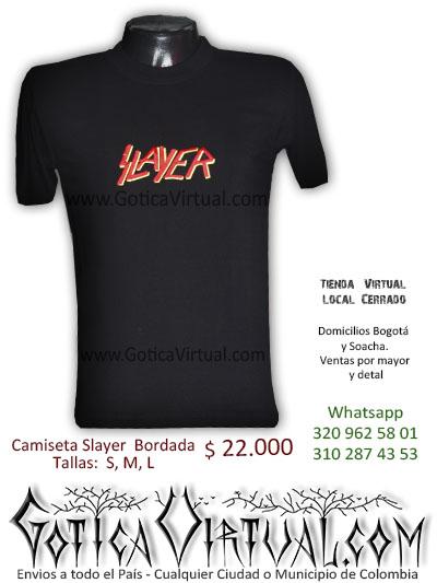 camiseta slayer tienda online rock metal cucuta huila valle armenia quindio pasto colombia