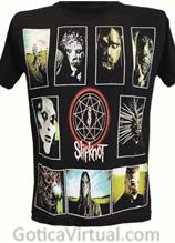 camiseta slipknot bogota album envios medellin cali pasto pereira manizales bandas hard core metal rock