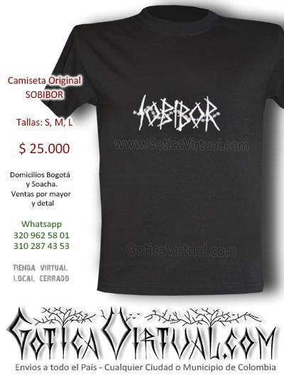 camisetas sobibor bogota originales de bandas colombianas tienda dark store clan metaleros medellin cali barranquilla soacha venecia centreo restrepo chapinero sedes