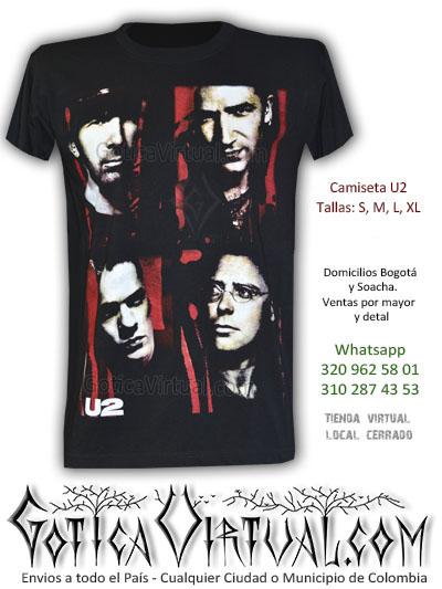 camisetas u2 bogota caras integrantes bono cantantes clan rockeros soacha bosa restrepo venecia suba chapinero alto sur norte sede