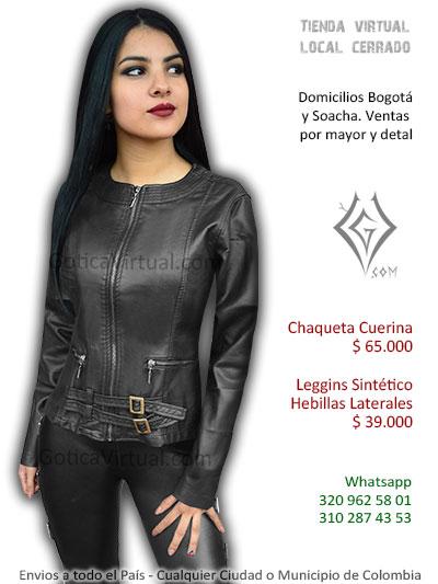 chaquetas chicas rockeras metaleras venta online outfitts bogota cali cesar bogota tunja medellin pasto colombia