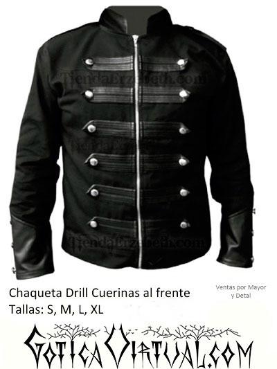 chaqueta rockera para hombre metalera ropa bogota envios medellin cali manizales pereira barranquilla yopal bucaramanga pasto tunja