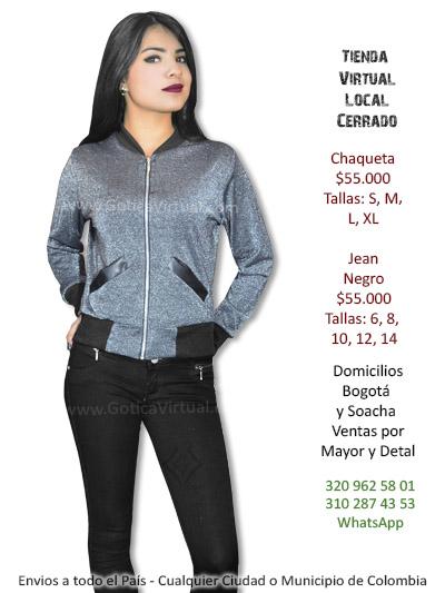 chaqueta femenina tienda online domicilios bogotas soacha alrededores envios todo el pais colombia