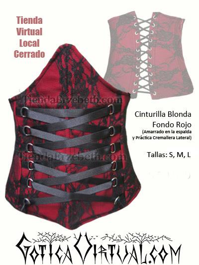 cinturilla prenda corset madrid saragoza caracas lima guayaquil panama ropa rockera metalera femenina female dark store new york