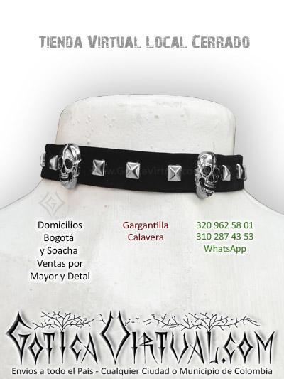 gargantilla tienda online rock metal bogota boutique manizales cesar tulua leticia pasto mosquera casanre tunja chia villeta colombia