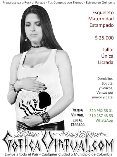 esqueleto blanco bebe embarazada bodega boutique prendas ropa bogota domicilios cali medellin manizales rioacha manizales colombia