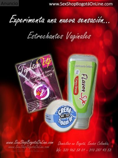 estrechantes vaginales crema gel sex shop bogota cali armenia pereira cucuta quindio funza chia villavicencio colombia