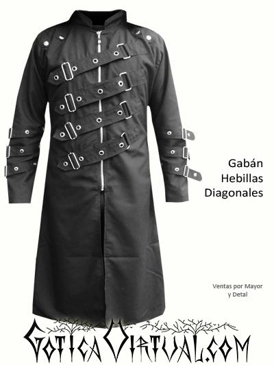gabanes bogota goticos metaleros abrigos taches hebillas ropa masculina envios medellin cali barranquilla