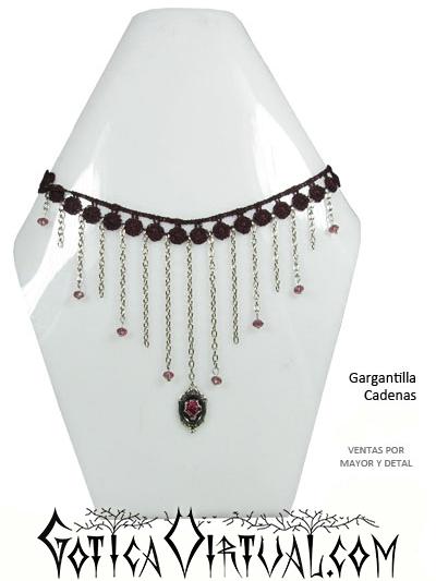 9e2de57346cb Gargantilla cadenas accesorios goticos femeninos envios Bogota Medellin Cali  Barranquilla Yopal Manizales Cartagena Pereira Ventas por