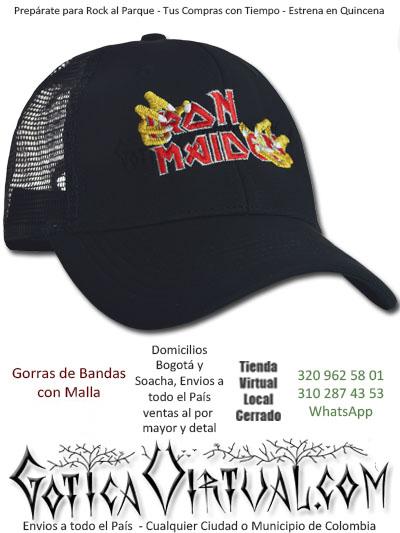 62a98ee34a77b gorra cachucha bandas iron maiden economica venta online envios bogota cali  cucuta manizales yopal colombia