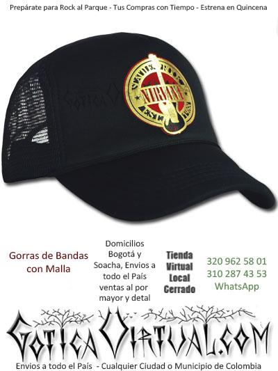 gorra cachucha nirvana accesorios economica venta online envios pasto zipaquira valle meta tunja cauca monteria colombia
