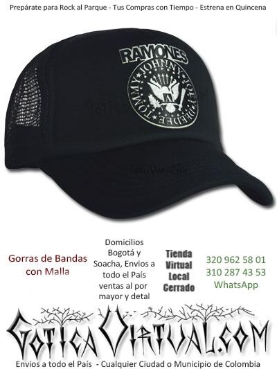 gorra ramones cachucha bandas economica venta online envios bogota zipaquira neiva medellin cucuta colombia