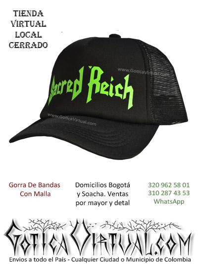 gorra sacred reich cachucha bandas economica venta online envios bogota zipaquira neiva medellin cucuta colombia