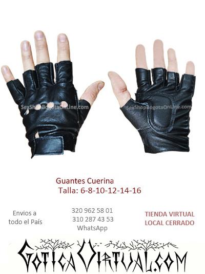 guantes cuerina resistentes comodos bonitos baratos ventas online sex shop caballero hombre bogota medellin manizales cucuta colombia