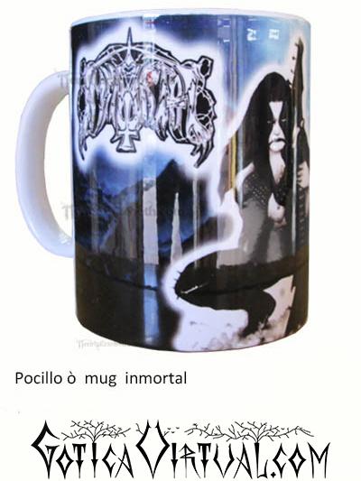 inmortal pocillo accesorios mug rock metal articulos venta gotico metaleras bogota medellin manizales death black thrash cali tienda estilo