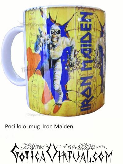 iron maieden articulos heavy mug rock metal venta gotico metaleras bogota medellin manizales death black thrash accesorios cali tienda pocillo