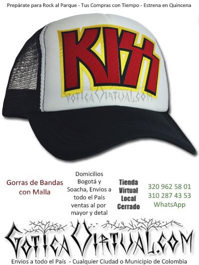 gorra cachucha kiss economica venta online envios bogota santander medellin zipaquira neiva cauca colombia