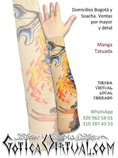 manga tatuada tatto brazo economica envios bogota cali medellin armenia tunja pereira pasto cucuta santander colombia