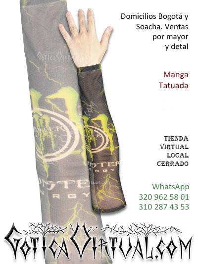 manga tatuada brazo tatto economica envios bogota cali medellin armenia tunja pereira pasto cucuta santander colombia