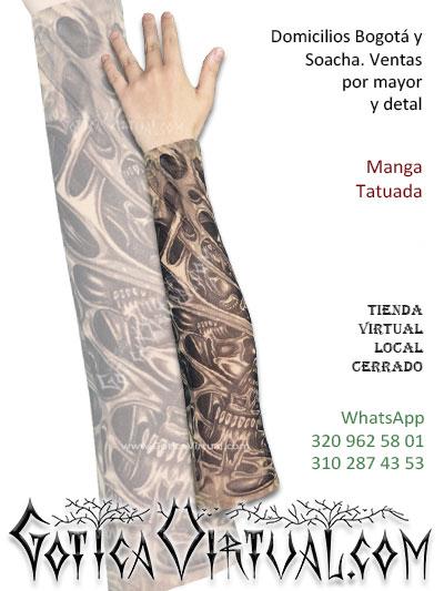 tatuada manga brazo tatto economica envios bogota cali medellin armenia tunja pereira pasto cucuta santander colombia