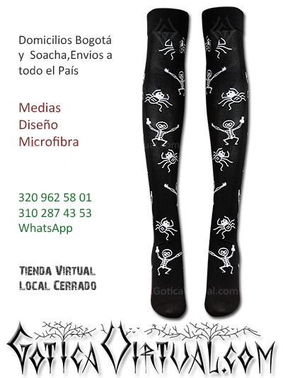 medias estilos varios medias negro licrado envios colombia medellin cali santander