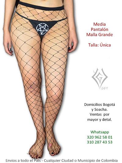 medias pantalon malla grandes disfraces venta boutique metal envios bogota cali armenia cesar tulua pasto colombia armenia cota