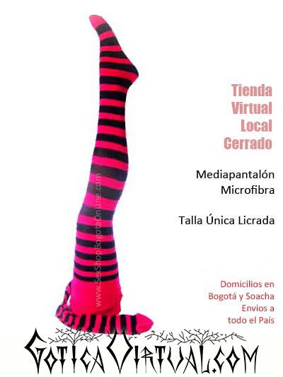 Medias rallas bogota negro fucsia blanco negro rojo zebra lineas micrafibra medellin ventas por mayor cartagena manizales flores yopal tunja pereira tienda erzebeth