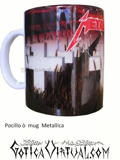 metallica mug articulos thrash estilo articulos heavy mug rock metal venta gotico metaleros bogota medellin manizales death black
