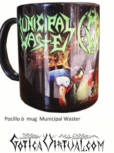 municipal waste thrash articulos heavy mug rock metal venta gotico metaleros accesorios cali tienda pocillo bogota medellin manizales heavy death black thrash