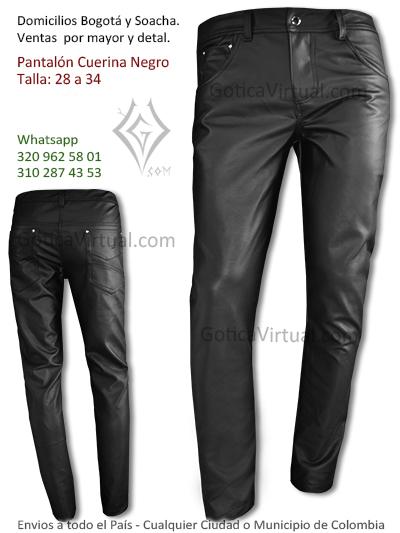 pantalon cuerina masculino hombre rockero metalero venta economico caldas fusagasuga mosquera pereira colombia