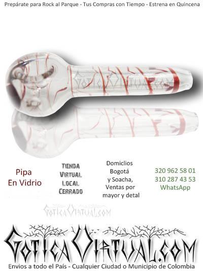 pipas vidrio para fumar envios a toda colombia venta online domicilios bogota y soacha