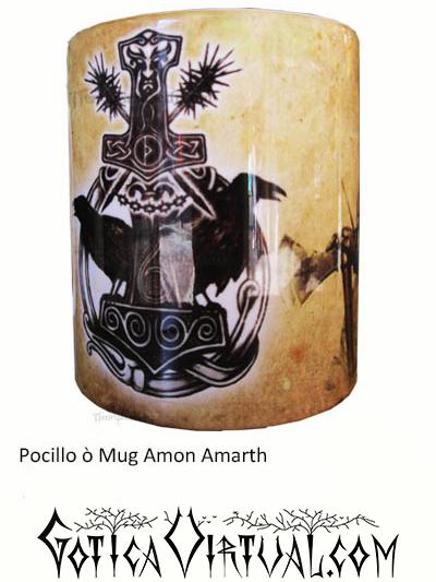 pocillo amon amarth rock metal articulos venta tienda gotico metaleros bogota medellin manizales death black