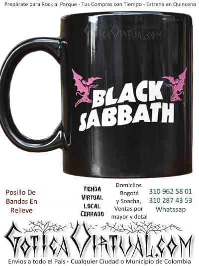 pocillo black sabbath relieve venta online domicilios bogota soacha envios colombia